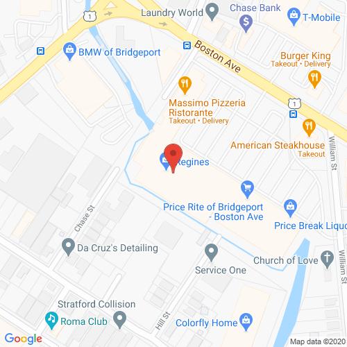 Map of Sutton Dental in Bridgeport CT