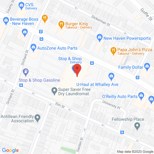 Map of Sutton Dental in New Haven CT