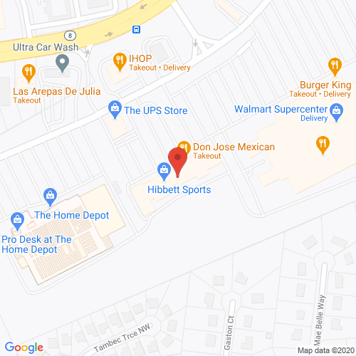 Map of Franklin Dental in Lilburn GA