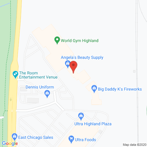 Map of Pippin Dental in Highland IN