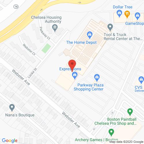 Map of Cortland Dental in Chelsea MA