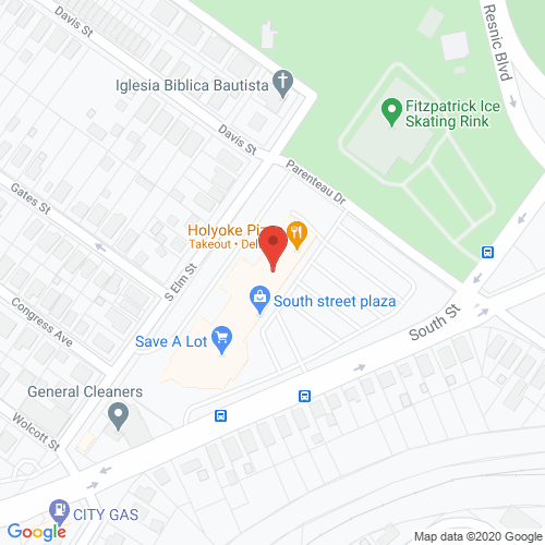Map of Cortland Dental in Holyoke MA