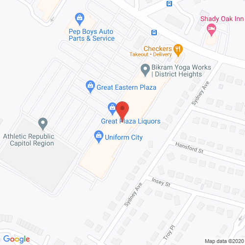 Map of Pine Dentistry in District Heights MD