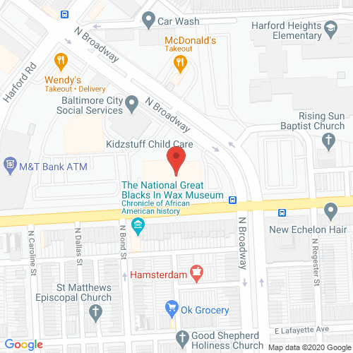 Map of Porter Dental in Northeast Baltimore MD