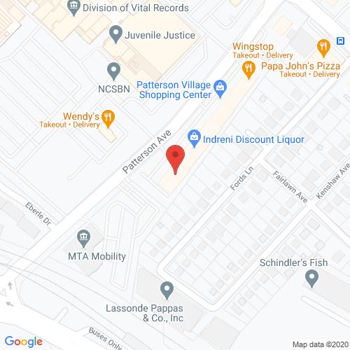 Map of Porter Dental in Northwest Baltimore MD