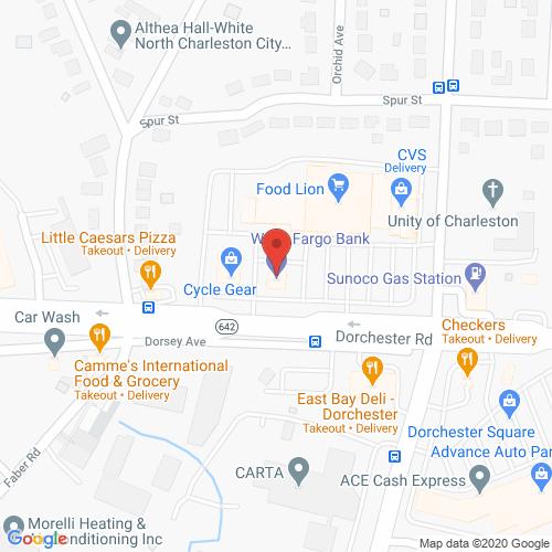 Map of Creston Dental in North Charleston SC