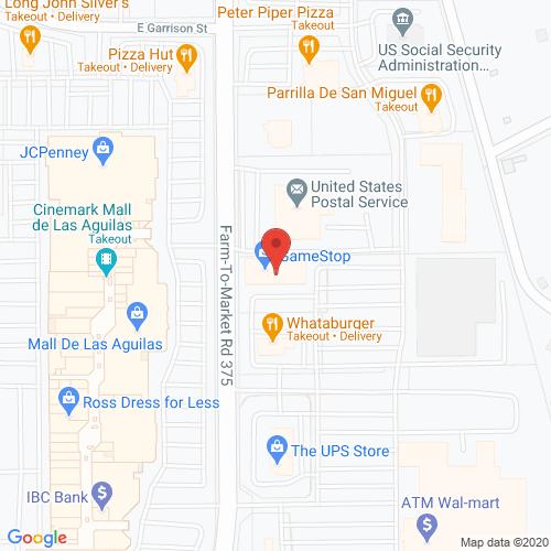 Map of Elstar Dental in Eagle Pass TX