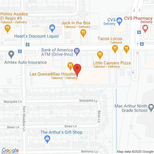 Map of Goodland Dentistry in Houston-Aldine TX